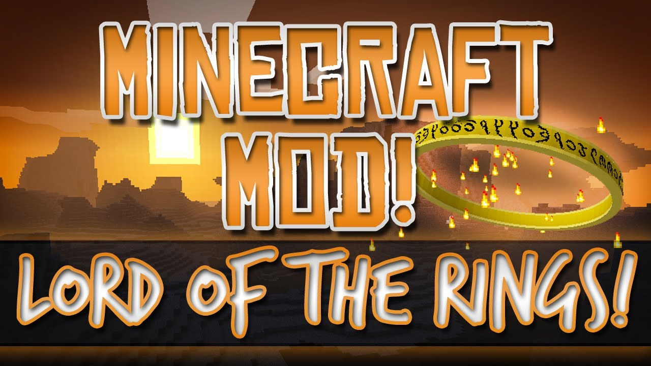 Скачать мод The Lord of the Rings для minecraft