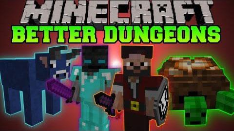 Скачать мод better dungeons на майнкрафт