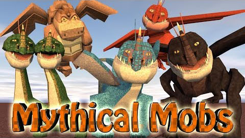 Скачать мод MLP Mythical Creatures для minecraft