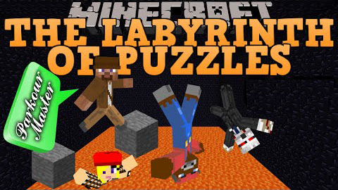 Скачать карту The Labyrinth of Puzzles для minecraft